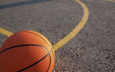 photo of a orange basketball